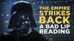 Yoda believes in the magic of song, while Vader struggles with technology. Bill Hader, Jack Black, and Maya Rudolph guest. From Bad Lip Reading Theme Star Wars, Star Wars Jokes, Song One, The Empire Strikes Back, Bad Feeling, College Humor, Hilarious, Funny, I Laughed