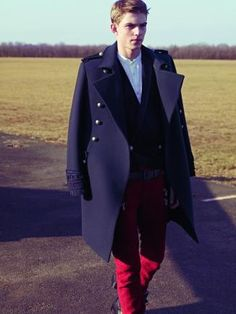 Balmain Homme FW2012 does Russian military-inspired looks