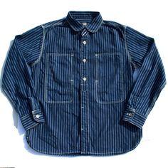 Momotaro Wabash Jail Stripe Shirt