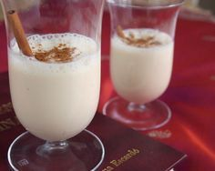 Caspiroleta - a hot Pisco recipe, sweet and milky punch traditional in Ica, Peru dating back to colonial times.