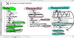 How we establish classroom expectations (as a class).