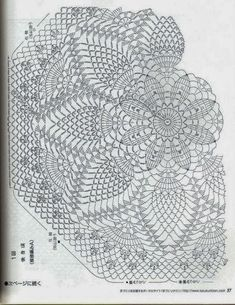 Crochet Umbrellas Archives - Beautiful Crochet Patterns and Knitting Patterns Crochet Doily Diagram, Crochet Doily Patterns, Crochet Mandala, Crochet Chart, Thread Crochet, Filet Crochet, Crochet Doilies, Knitting Patterns, Crochet Saco