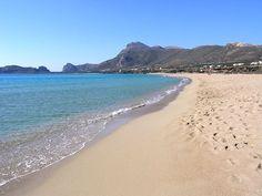 Falassarna beach, Chania, Crete, Greece