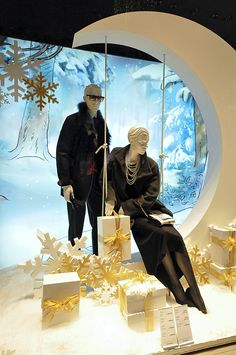 Peek & Cloppenburg Christmas windows 2012, Vienna visual merchandising