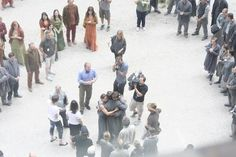 Prior family saying goodbye after ceremony (via twitter) (10/07)