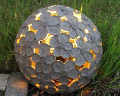 Keramik Gartenlicht