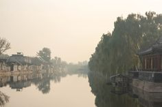 Moat around the Imperial City - Beijing China  #city #moat #imperial #beijing #china