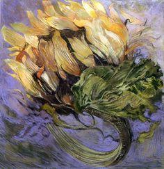 Sunflower Head (pastel) Jimmy Wright