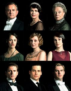 Downton Abbey. The Upstairs Folks- plus Thomas...? (Branson counts as upstairs now I guess too)