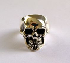 Your place to buy and sell all things handmade Crane, Skull Jewelry, Skull Rings, Jewelry Rings, Jewelry Watches, Jewellery, Sterling Silver Diamond Rings, Emerald Jewelry, Diamond Jewelry