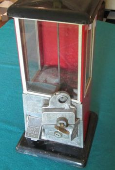 Brings back memories, this gumball machine was in my house growing up.
