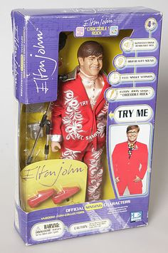 Need to get the whole collection! Elton John - Official Limited Edition Yaboom Talking Doll