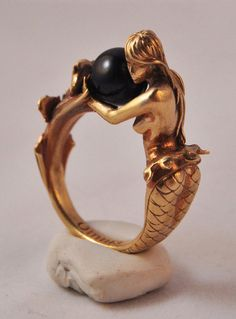 Arianna mermaid ring in brass by kerinewton Pinterest Tags Ciao, Tiandra #TiandraB #Tiandraism #houseoftiandra and Instagram @TiandraBullock House of Tiandra on Pinterest