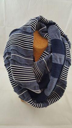 Dana Herbert navy stripe reversible