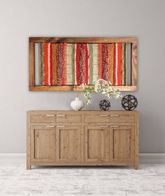 Made in Chile with natural wool and driftwood from Lago Puyehue. It takes me 3 weeks to do it and 3 more weeks the delivery. Weaving Wall Hanging, Weaving Art, Loom Weaving, Tapestry Weaving, Hanging Wall Art, Hand Weaving, Wall Hangings, Deco Boheme Chic, Peg Loom