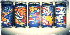 Romero Britto art for Pepsi