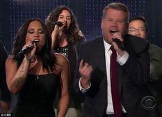 Demi Lovato and James Corden face off in Divas Riff-Off http://ift.tt/2nimHE1