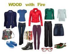 feng shui fashion - wood & fire