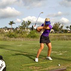 Alisa Diomin - Lag for daysss. #laglaglag #golf #girlswhogolf #grind #purple #shankopotamus #golfbabes