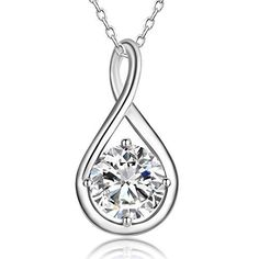 Zales Diamond Accent Beaded Heart with Intertwined Infinity Pendant in Sterling Silver and 18K Gold Plate D1fQJEjX4