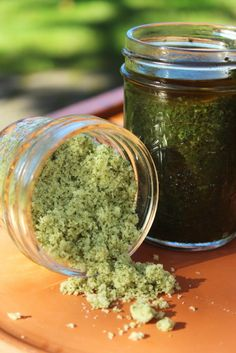 Preserving the Summer - Herb Sugars and Herb Pastes