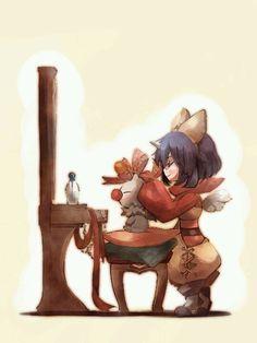 Final Fantasy IX - Eiko & Mog