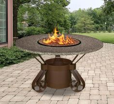 Outdoor Fire Pit Tables | ... Fire Pit Table - Outdoor Fire Pits & Fireplaces - California Outdoor