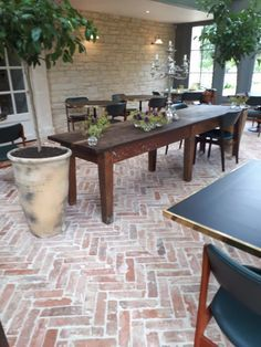 Garden Tiles, Brick Garden, Patio Tiles, Garden Floor, Outdoor Tiles Patio, Outside Flooring, Brick Flooring, Outdoor Flooring, Brick Paving