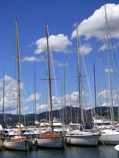 France, Holiday, Sailboats, Boat, Seascape, Port #france, #holiday, #sailboats, #boat, #seascape, #port