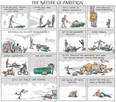 The Nature Of Ambition Funny Picture