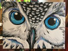 Learn to paint and enjoy a glass of wine at Vine & Canvas. We will guide you in duplicating the night's highlighted painting. Take home your own Masterpiece! Aqua Eyes, Paint And Sip, Paint Party, Learn To Paint, Tatt, Vines, Owl, Artists, Bird