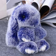 Kawaii Accessories, Nail Accessories, Doll Toys, Dolls, Car Key Holder, Fluffy Bunny, Fur Pom Pom, Rabbit Fur, Key Chain