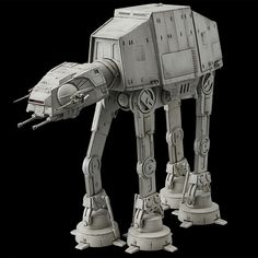 Bandai has released more images of their new AT-AT Imperial Walker in scale, We are in love! Let's take a look at this new kit. Nave Star Wars, Star Wars Rpg, Star Wars Fan Art, Star Wars Ships, Star Wars Toys, At At Walker, Walker Art, Imperial Walker, Star Troopers