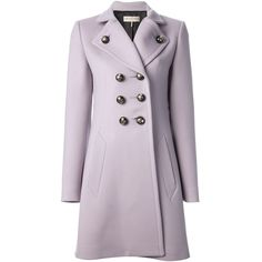 EMILIO PUCCI double breasted overcoat (9.435 BRL) ❤ liked on Polyvore featuring outerwear, coats, jackets, coats & jackets, casacos, emilio pucci coat, emilio pucci, long sleeve coat, double-breasted coat and double breasted belted coat