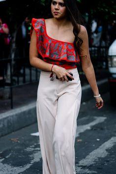 Street Style de Fashion Week Mexico Primavera Verano 2017