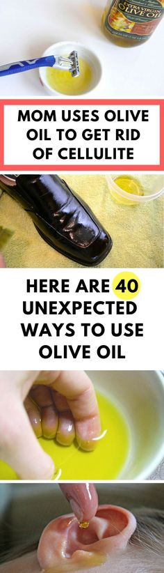 There are so many great uses for olive oil (not just for cooking! It can be great for your skin, hair, and even nails. Olive oil can help clean your home and your body. You probably have no idea how much olive oil can do for you. Diy Hanging Shelves, Diy Wall Shelves, Cellulite, Olives, All You Need Is, Mason Jar Crafts, Mason Jars, Helping Cleaning, How To Make Paper