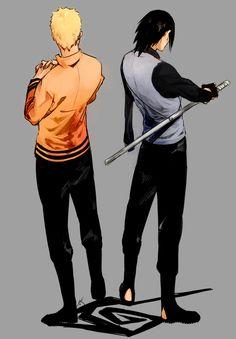 Naruto and Sasuke, Boruto the Movie.