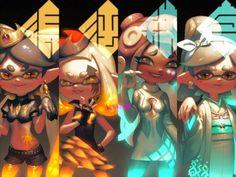 Splatoon: Image Gallery - Page 4 Splatoon Memes, Nintendo Splatoon, Splatoon 2 Art, Splatoon Comics, Fnaf, Marina Splatoon, Splatoon Squid Sisters, Pearl And Marina, Callie And Marie