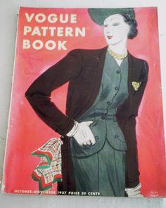 Vogue Pattern Book, October-November 1937