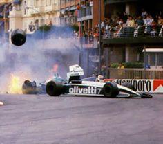 http://f1nostalgia.blogspot.com.br/ Piquet - Patrese Monaco