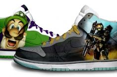 Master Chief Sneakers. Epic