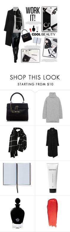 """""""Untitled #2839"""" by amimcqueen ❤ liked on Polyvore featuring Luana, Acne Studios, Lost & Found, Smythson, Context, EB Florals and Bobbi Brown Cosmetics"""