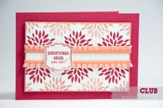 Stampin Up Petal Parade Sale-a-bration 2014 sab Nett-iketten Label love birthday Geburtstag