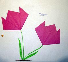 blumen falten - Blumen Falten Aus Papier
