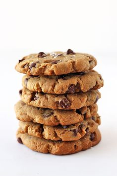 "hoardingrecipes: ""Peanut Butter Chocolate Chip Cookies """