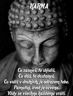 Toto si povedz vždy keď Ťa niekto nasere😉 ver mi, pomáha to! Motto, Karma, Slogan, Buddha, Poems, Motivation, Quotes, Faith, Quote