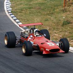 1968 GP Wielkiej Brytanii  (Brands Hatch) Ferrari 312-68 (Chris Amon)
