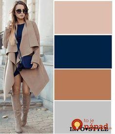Light trench and OTK boots Colour Combinations Fashion, Color Combinations For Clothes, Fashion Colours, Colorful Fashion, Colour Pallete, Colour Schemes, Color Trends, Color Combos, Estilo Fashion
