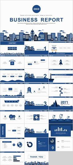 27+ Blue simple business report PowerPoint templates on Behance #powerpoint #templates #presentation #animation #backgrounds #pptwork.com #annual #report #business #company #design #creative #slide #infographic #chart #themes #ppt #pptx #slideshow