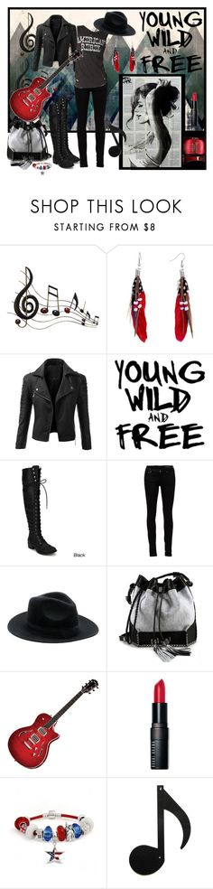 """""""Young, wild & free"""" by julyralewis ❤ liked on Polyvore featuring Benzara, Pugster, Doublju, Yves Saint Laurent, Carianne Moore, T3, Bobbi Brown Cosmetics and Bling Jewelry"""